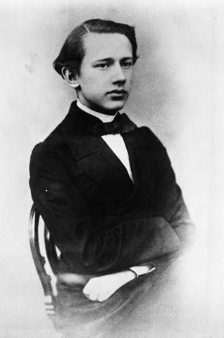 Peter Tschaikovsky As A Student At Conservatory 1863